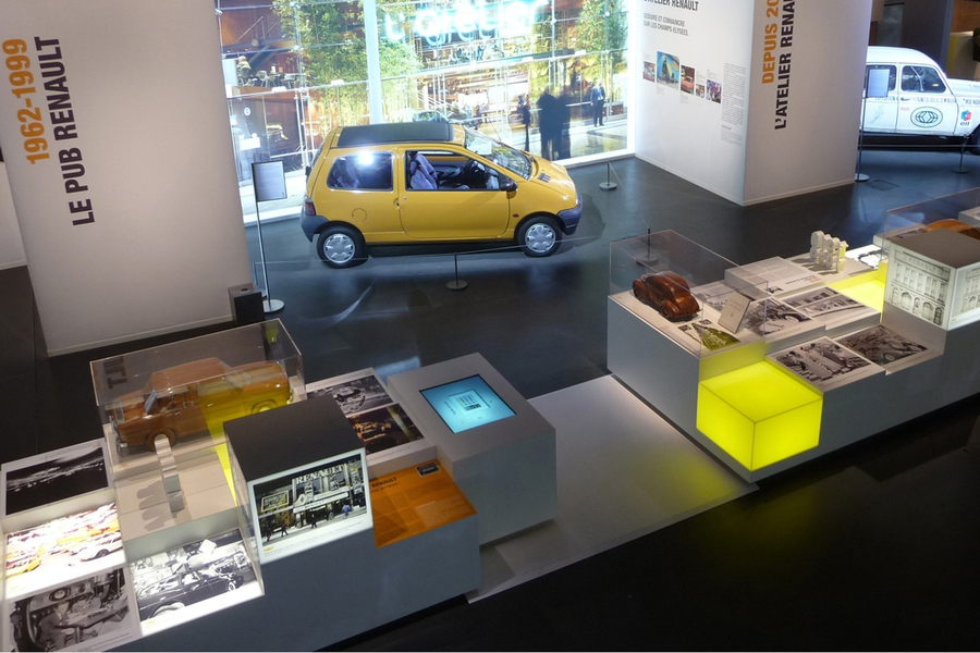 100 ans de renault sur les champs lys es projets sylvain roca. Black Bedroom Furniture Sets. Home Design Ideas